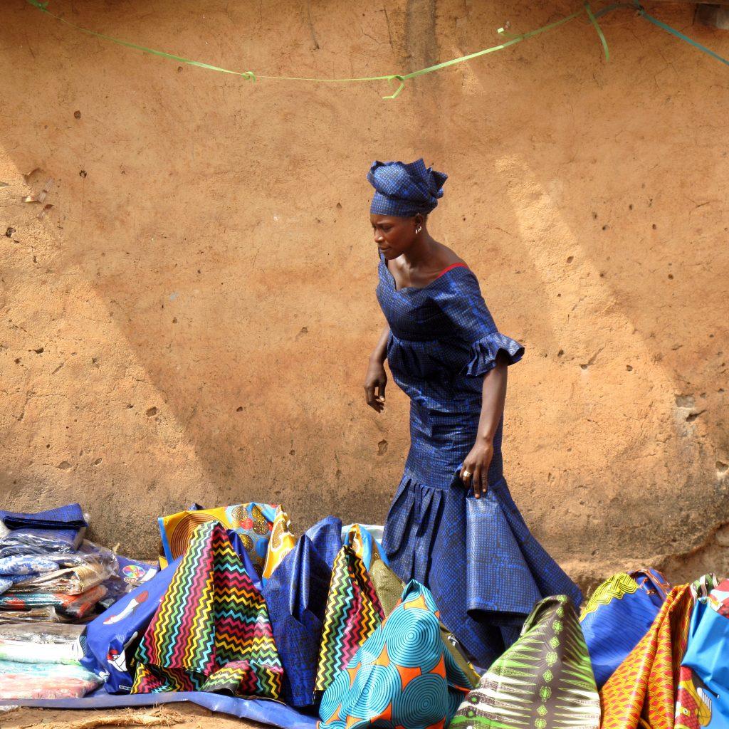 Markttag in Kourémalé